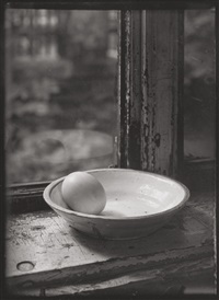 untitled (egg in a bowl) by josef sudek