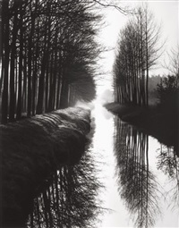holland canal by brett weston