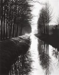 holland canal by brett weston