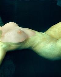 jennifer, torso underwater, new york city by albert watson