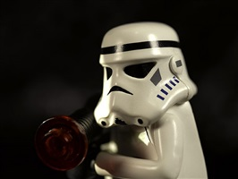 untitled (from the series star wars) by david levinthal