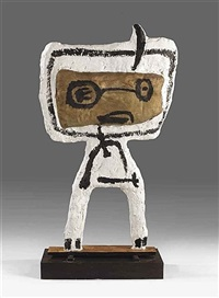 cavalry child by karel appel