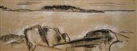 maine coast by marsden hartley