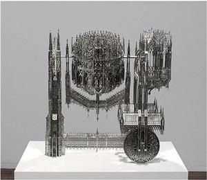 concrete mixer (scale model 1:4) by wim delvoye