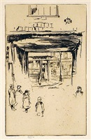 drury lane by james abbott mcneill whistler