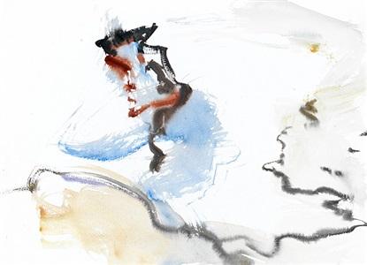 figure scape v by leiko ikemura