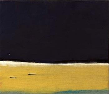 yellowish horizon by leiko ikemura
