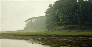 island fog (sold) by peter bergeron