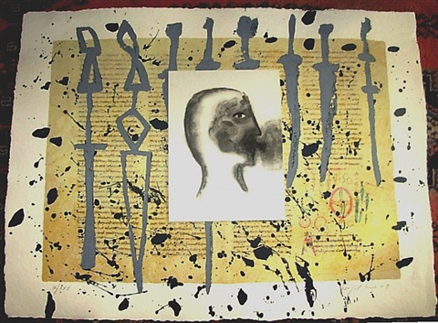 rabanus maurus - de universo 8 by mimmo paladino
