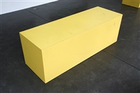 bench / cumid marigold by sterling ruby