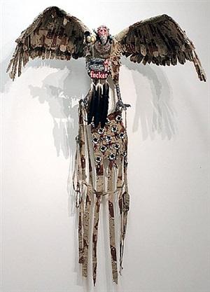 gymnogyps californianus / californian condor by fiona hall