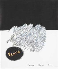 untitled (peace) by david shrigley and yoshitomo nara