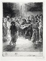 chanson du soir by théophile alexandre steinlen