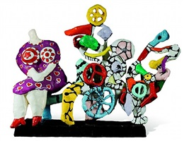 la machine à rêver by niki de saint phalle