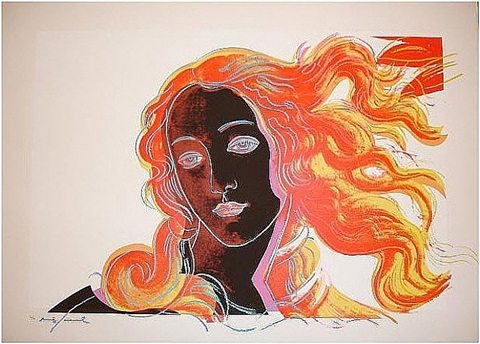 birth of venus 318 by andy warhol