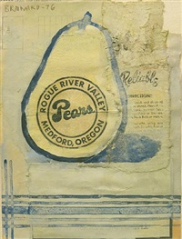 untitled (rogue river valley pears) by joe brainard