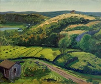 dogtown valley in the sun by john french sloan