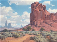 monument valley by karl albert