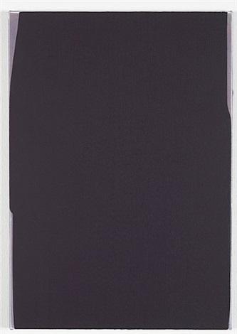 untitled (darkish purple), 2012 by mary ramsden