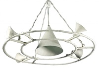 suspended ceiling fixture by alberto giacometti