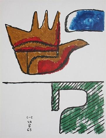 la main levee (the open hand) by le corbusier