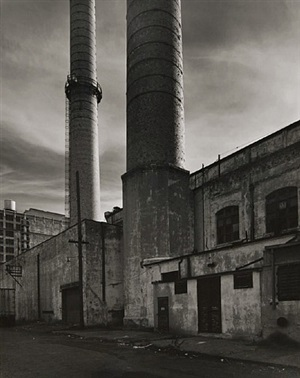 smoke stacks, brooklyn, ny by tom baril