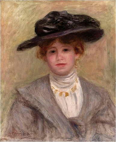 madame paul valéry (sold) by pierre-auguste renoir