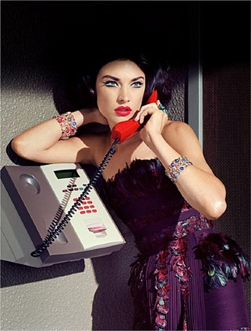 extravagant sophisticated lady #12 by miles aldridge