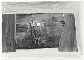 stage (with moon) by silke otto-knapp