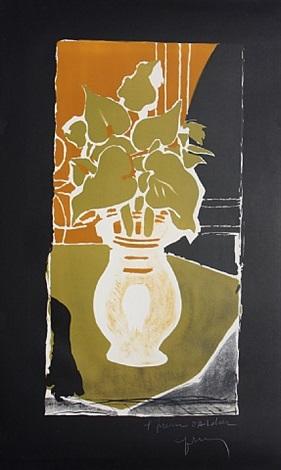 feuilles couleur lumiere by georges braque