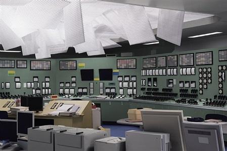 kontrollraum / control room by thomas demand