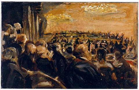 konzert in der oper by max liebermann