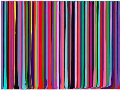 ian davenport recent paintings, works on paper and prints by ian davenport