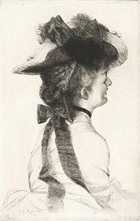le chapeau rubens by james jacques joseph tissot