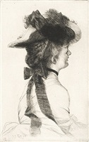 le chapeau rubens by james jacques joseph tissot