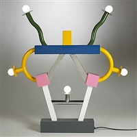 ashoka table lamp by ettore sottsass