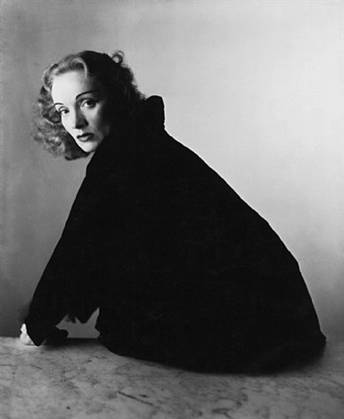 marlene dietrich, new york, 1948 by irving penn