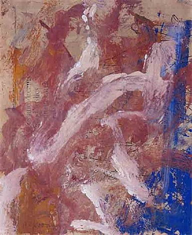 figure diving into the sea by willem de kooning