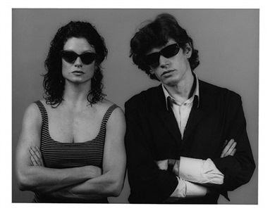 lisa and robert by robert mapplethorpe