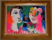 jonny & sylvie by bernard lorjou