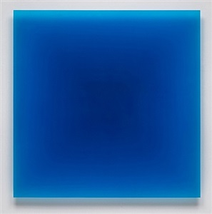 6/1/12 (blue square) by peter alexander