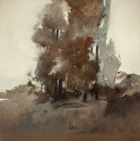 untitled (landscape) by john alexander
