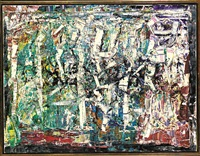 untitled #286 by jean paul riopelle