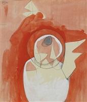 study for sculpture ii by bernard meadows