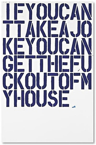 untitled (f48) by christopher wool