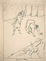 eccentric dance by george grosz