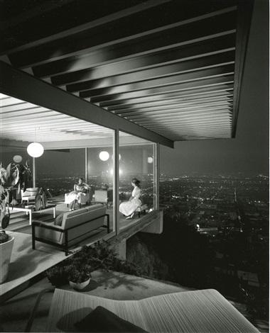 case study house 22 designed by pierre koenig los angeles california by julius shulman