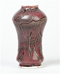 sea fan vase by kpm - königliche porzellan-manufaktur (co.)