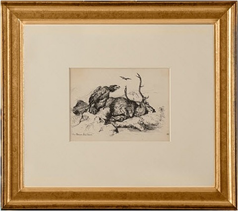sir edwin lansdeer (dead stag) by edward hopper