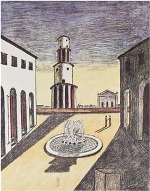 il segreto della fontana by giorgio de chirico
